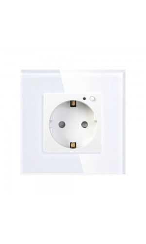 Умная встраиваемая Wi-Fi розетка HIPER IoT Outlet W01